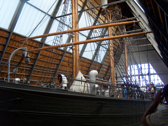 Muzeum na statku Frammuseet