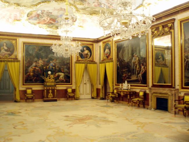 Sala Tronowa, Palacio Real