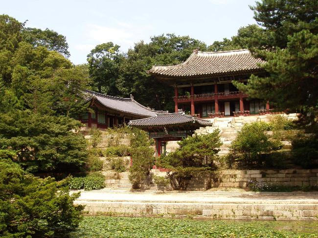 Część kompleksu Changdeokgung