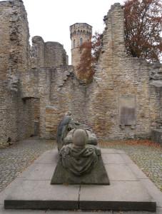Ruiny zamku Hohensyburg