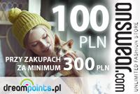 ANSWEAR.com: 100 zł rabatu przy zakupach za minimum 300 zł.