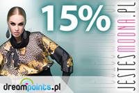 JESTESMODNA.PL: 15% rabatu na produkty nieprzecenione.