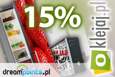 Oklejaj.pl: 15% rabatu